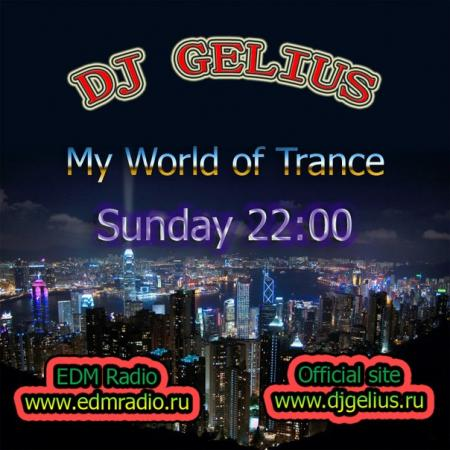 DJ GELIUS - My World of Trance #211 (23.06.2013) MWOT 211