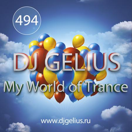 DJ GELIUS - My World of Trance #494 (25.03.2018) MWOT 494