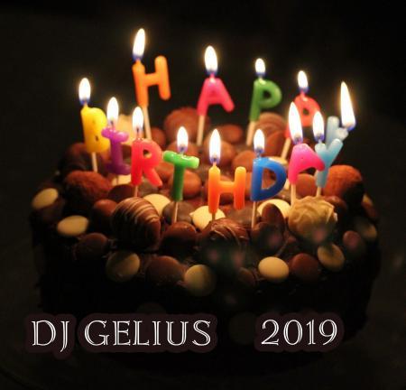 DJ GELIUS - Happy Birthday 2019